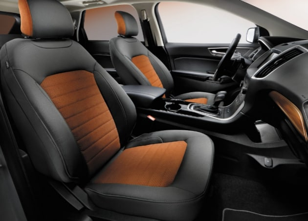 Ford Edge SEL Appearance Package Interior Features