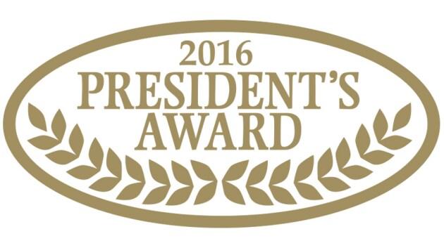 2016 Ford President's Award