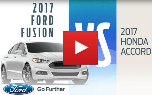 Ford Fusion vs Honda Accord