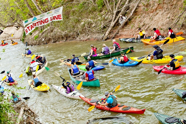 Annual Buffalo Bayou Regatta Houston