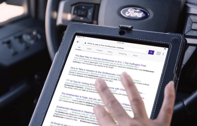 Ford Wi-Fi hotspot