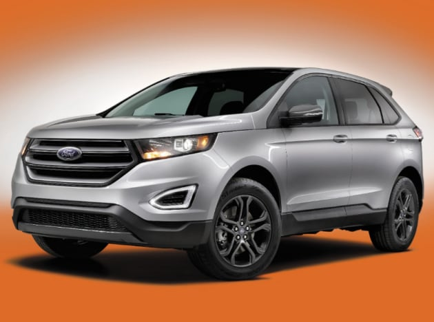 2018 Ford Edge SEL Appearance Package