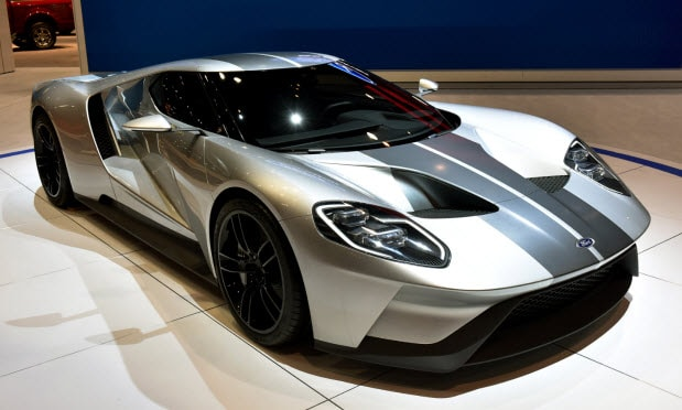All New Ford Gt To Produce An Incredible  Horsepower