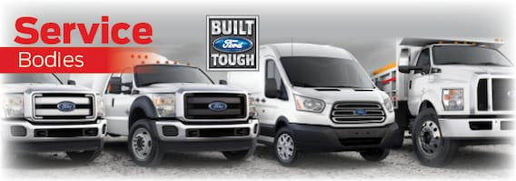 Ford Commercial Trucks for Sale | Ford Service Body Upfits