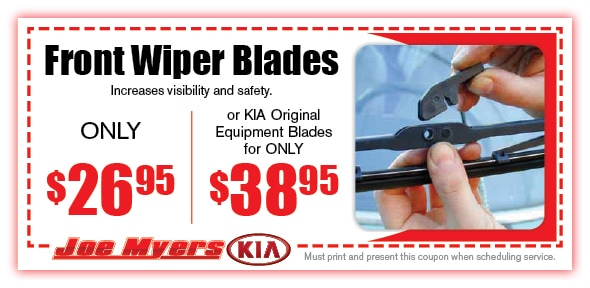 Windshield Wipers Service Coupon, Houston, TX Automotive Service Special