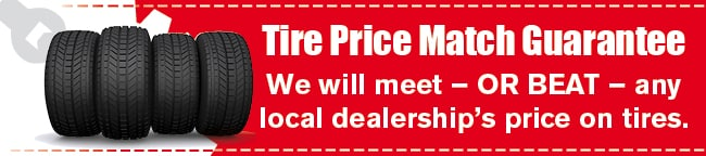 Tire Price Match Coupon, Houston
