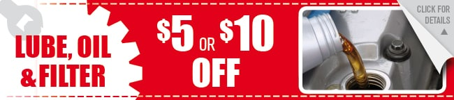 Lube Oil & Filter Coupon, Houston