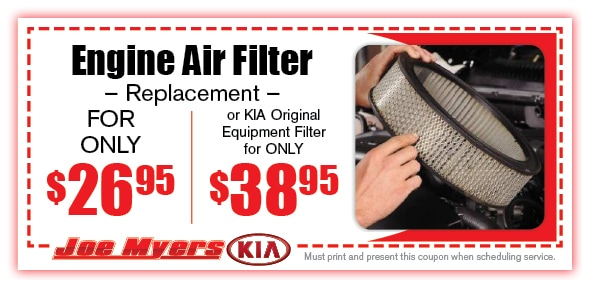 Engine Air Filter Service Coupon, Houston, TX Automotive Service Special