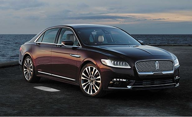 2017 lincoln continental features