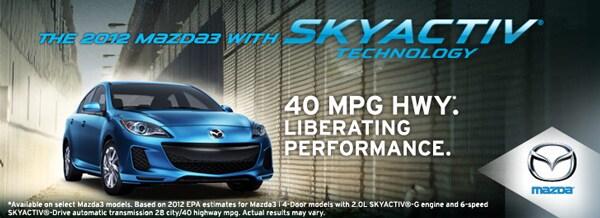 New 2012 Mazda 3 SKYACTIV Technology Houston TX