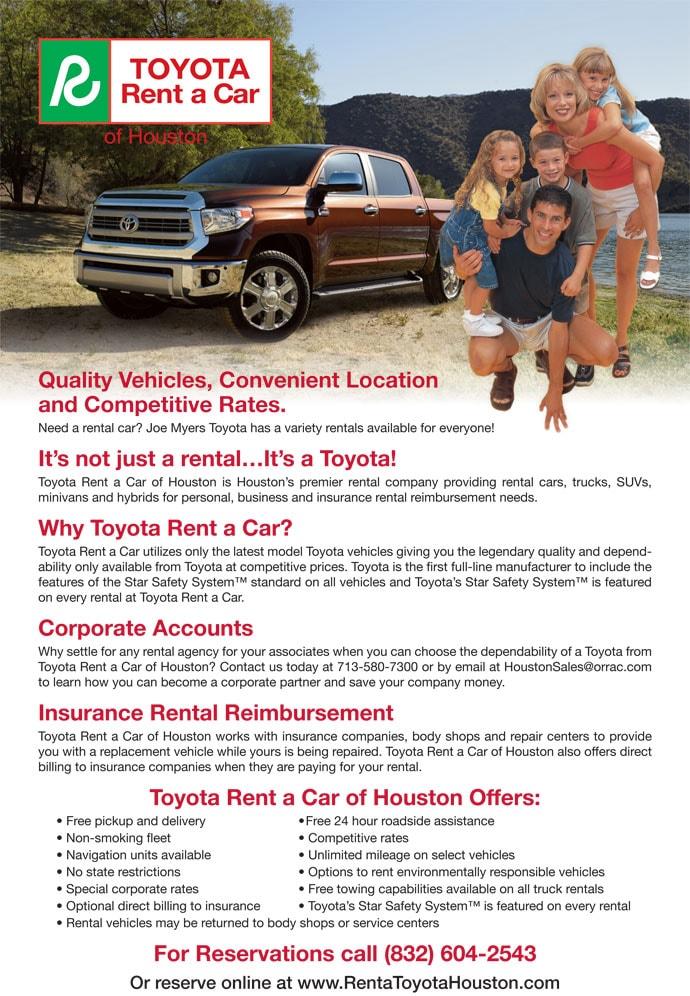 Contact. Joe Myers Toyota