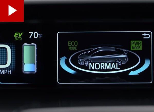 Prius Prime driving modes