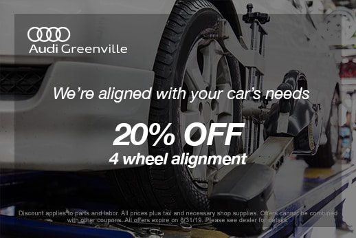 Audi Service Specials | Greenville NC | Serving Winterville