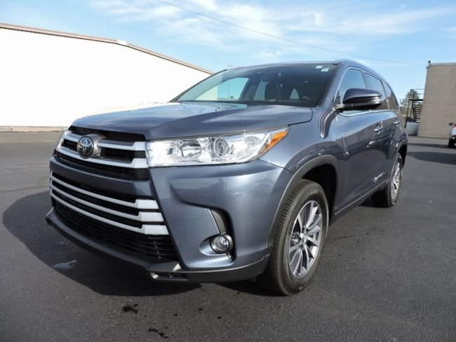 Used  2018 Toyota Highlander XLE SUV in Greenville