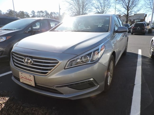 Used  2015 Hyundai Sonata SE Sedan in Greenville