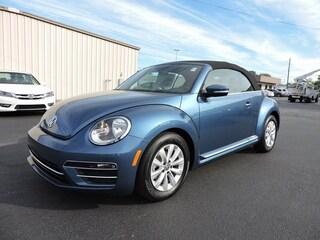 New 2019 Volkswagen Beetle 2.0T S Convertible 13439 for Sale in Greenville, NC, at Joe Pecheles Volkswagen