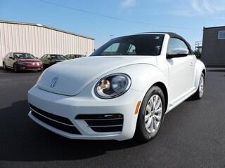 New 2019 Volkswagen Beetle 2.0T S Convertible 13479 for Sale in Greenville, NC, at Joe Pecheles Volkswagen