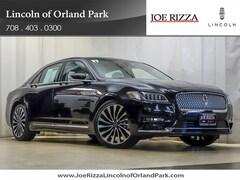2017 Lincoln Black Label Continental Sedan