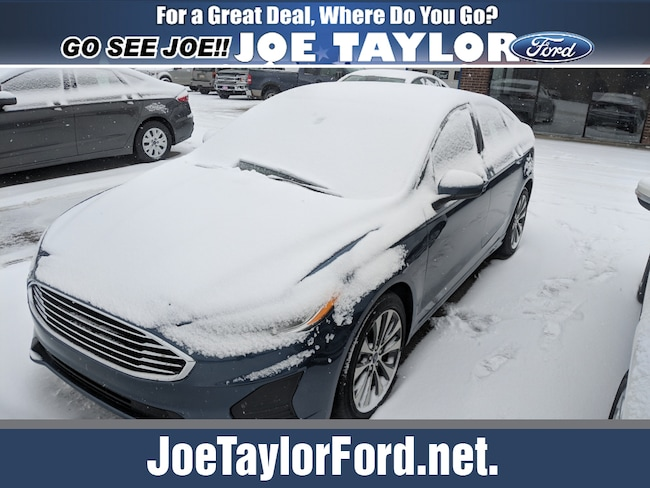 2019 Ford Fusion SE AWD SE  Sedan