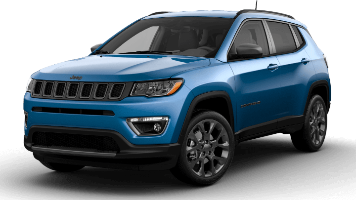 2021 Jeep Compass 80th Anniversary - Laser Blue
