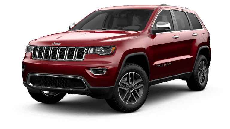 2020 Jeep Grand Cherokee Limited - Velvet Red