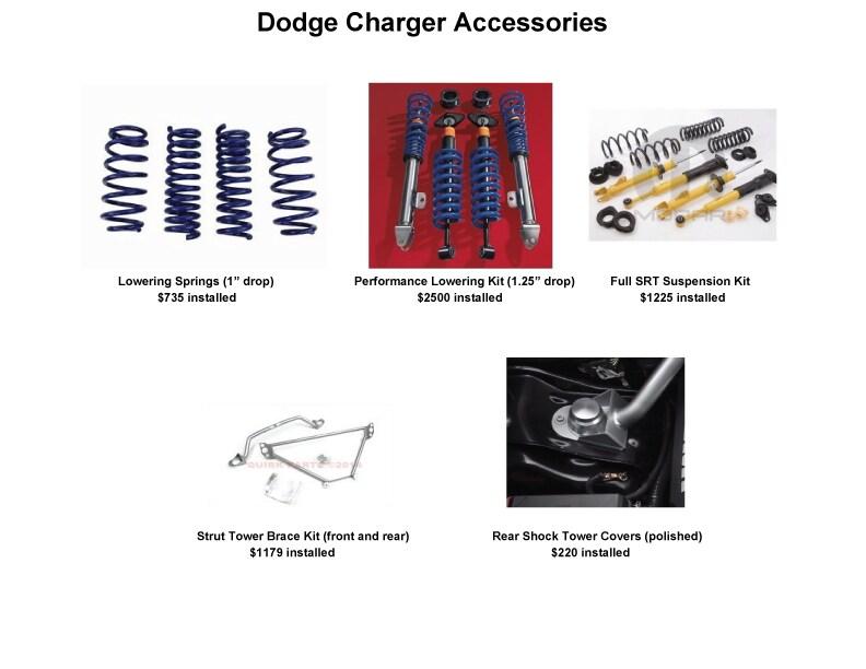 Dodge Charger Accessories | John Amato Chrysler Dodge Jeep Ram