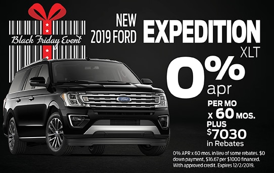 2019 Ford Expedition Finance Offer