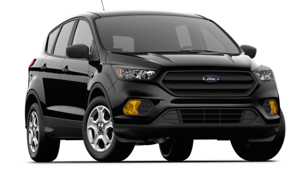A black 2019 Ford Escape S
