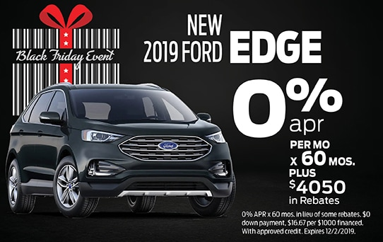 2019 Ford Edge Finance Offer