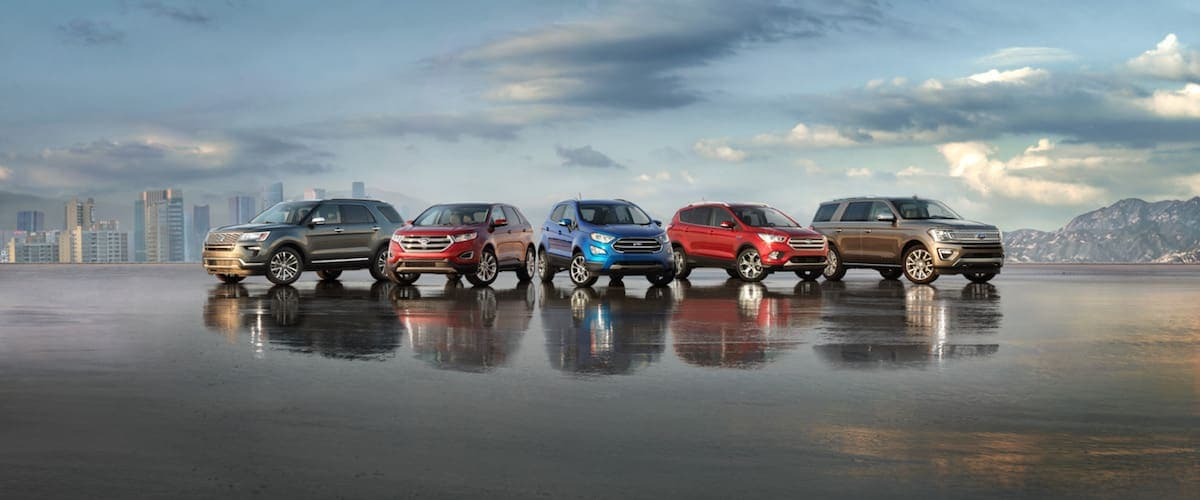 Ford SUV Lineup