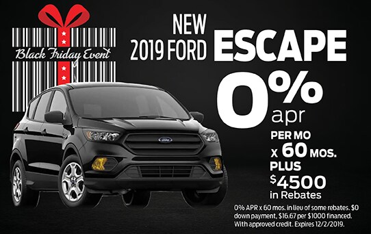 2019 Ford Escape Finance Offer