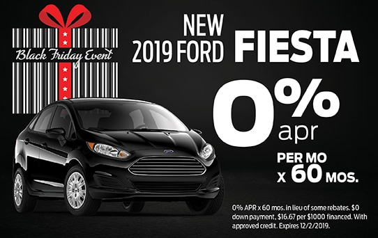 2019 Ford Fiesta Finance Offer