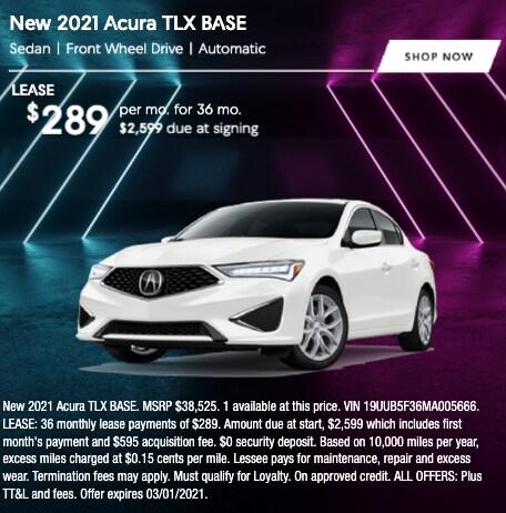 2021 Acura TLX Base