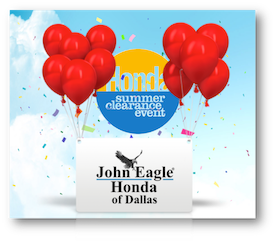 2016 Honda Summer Clearance Event