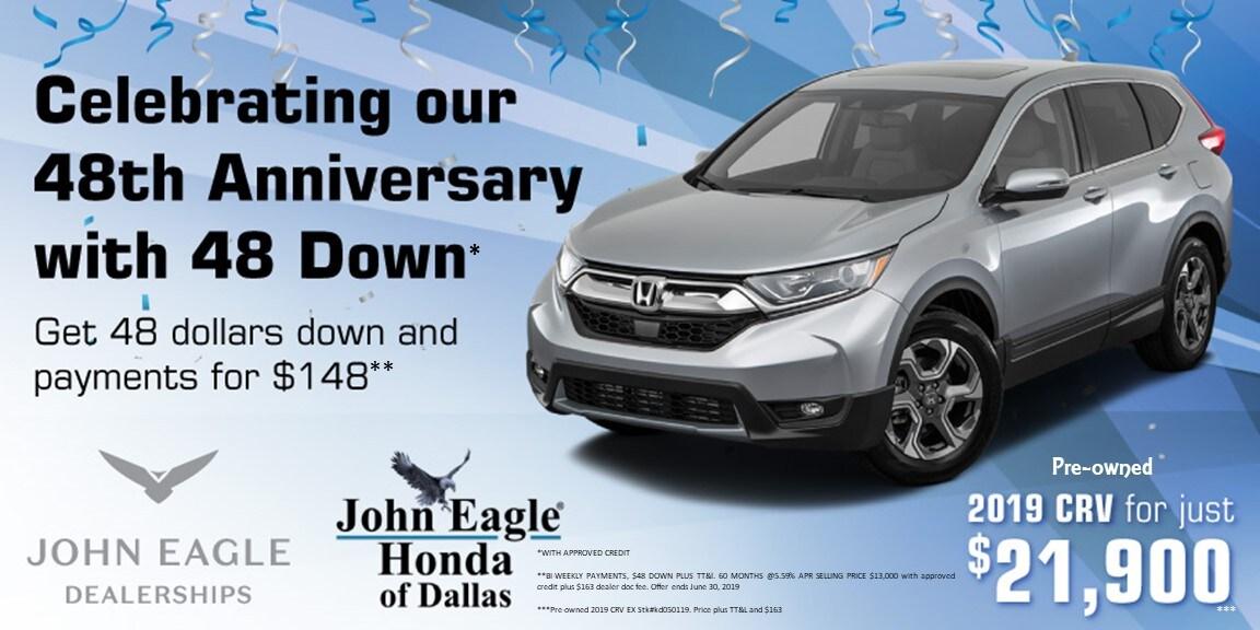 Honda Dealer Dallas Tx New Certified Used Cars In Dallas John