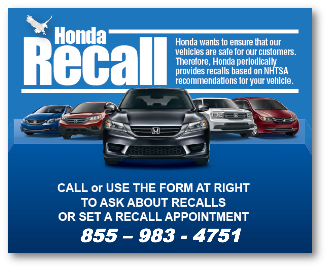Check for Recalls on My Honda - Honda Recall Lookup