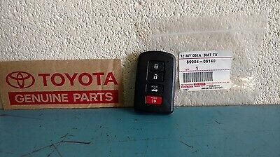 Genuine Toyota Key Fobs