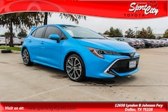New 2019 Toyota Corolla Hatchback XSE Hatchback for Sale in Dallas TX