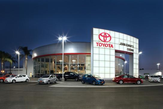 John Elways Crown Toyota >> About John Elway S Crown Toyota Ontario Ca Toyota Dealership
