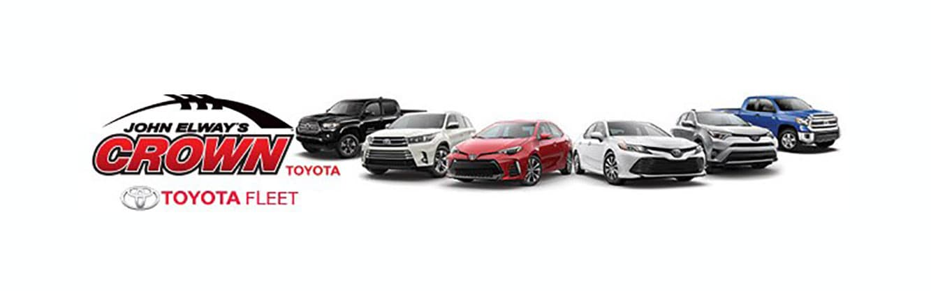 John Elways Crown Toyota >> Fleet Department John Elway S Crown Toyota