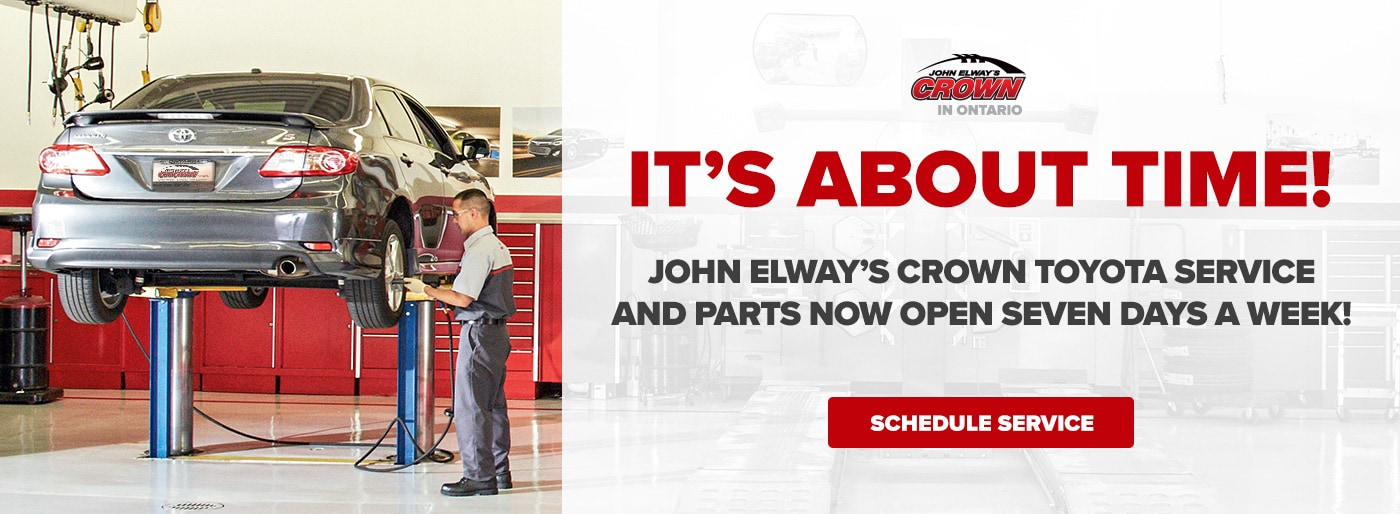 John Elways Crown Toyota >> John Elway S Crown Toyota Ontario Ca Toyota Dealer Serving The