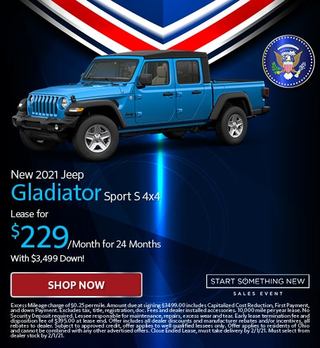 New 2021 Jeep Gladiator Sport S 4x4 - Jan