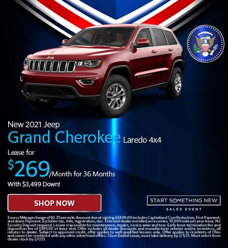 New 2021 Jeep Grand Cherokee Laredo 4x4 - Jan