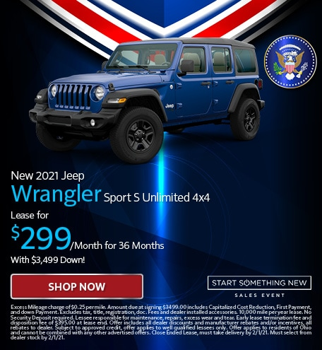 New 2021 Jeep Wrangler Sport S Unlimited 4x4 - Jan