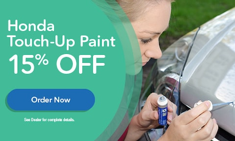 Honda Touch-Up Paint