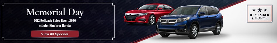 Memorial Day 2012 Rollback Sales Event 2020 - May