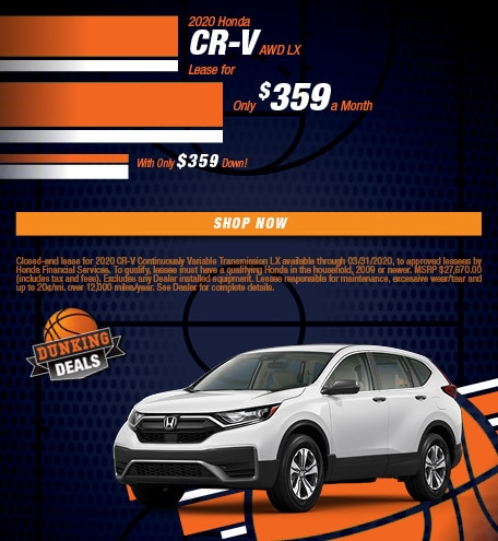 2020 Honda CR-V AWD LX - March