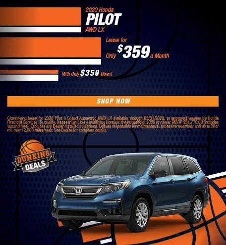 2020 Honda Pilot AWD LX - March
