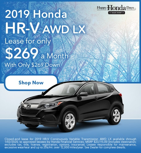 New 2019 Honda HR-V - November
