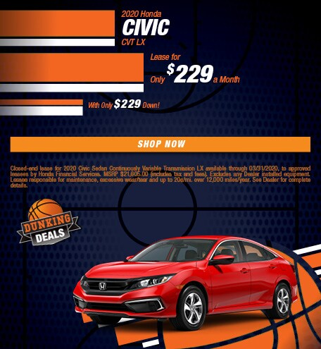 2020 Honda Civic CVT LX - March